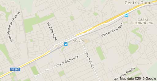mappa zone intervento idraulico acilia