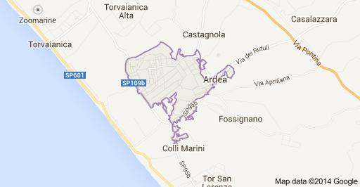mappa-ardea