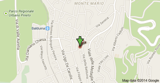 mappa zone intervento idraulico roma balduina