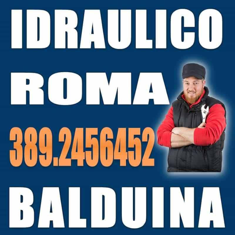 idraulico Roma Balduina
