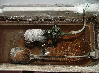 Come si ripara il gruppo di scarico del WC idraulico roma