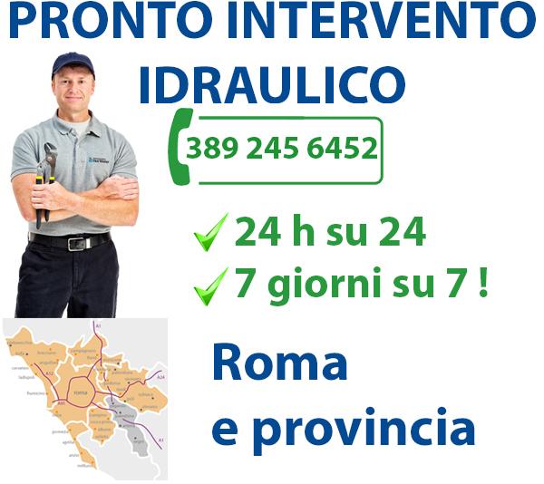Idraulico - Zone di Roma
