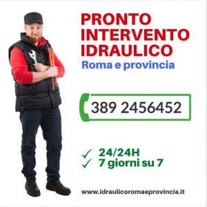 idraulico roma cornelia